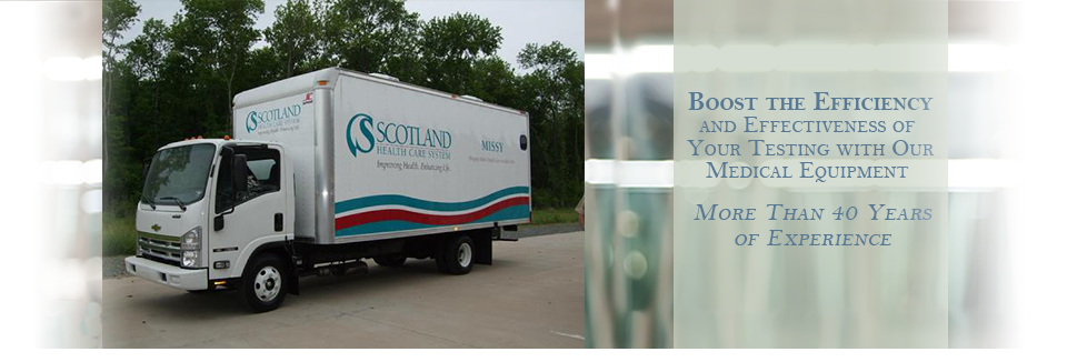 Mobile Medical Vehicles, Hearing Trailers, Audiometer